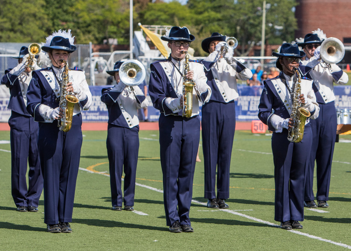 Blue Devil marching band will perform at halftime