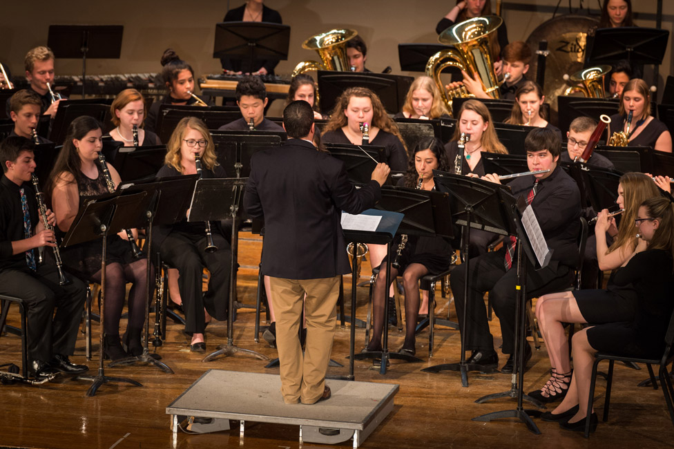 Huntington UFSD has long boasted one of the best music programs in the country. (Darin Reed photo.)
