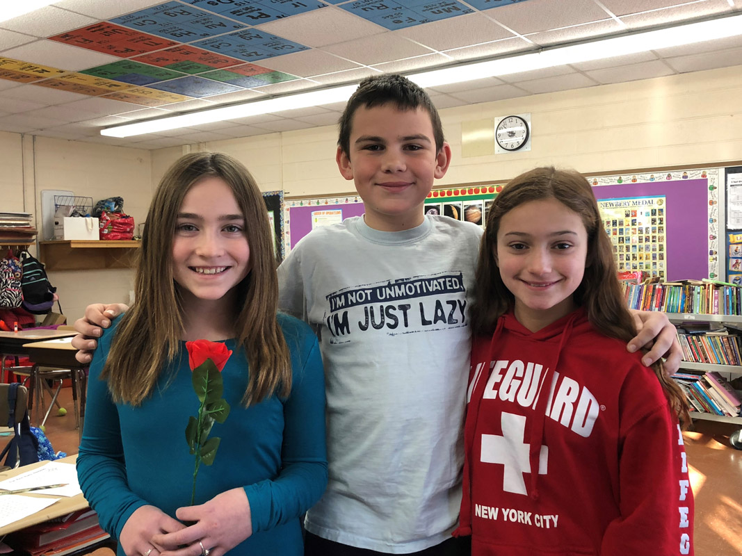 Josephine Sullivan, Nicholas Plachta and Sofia Rodriguez will star in Beauty & the Beast, Jr.
