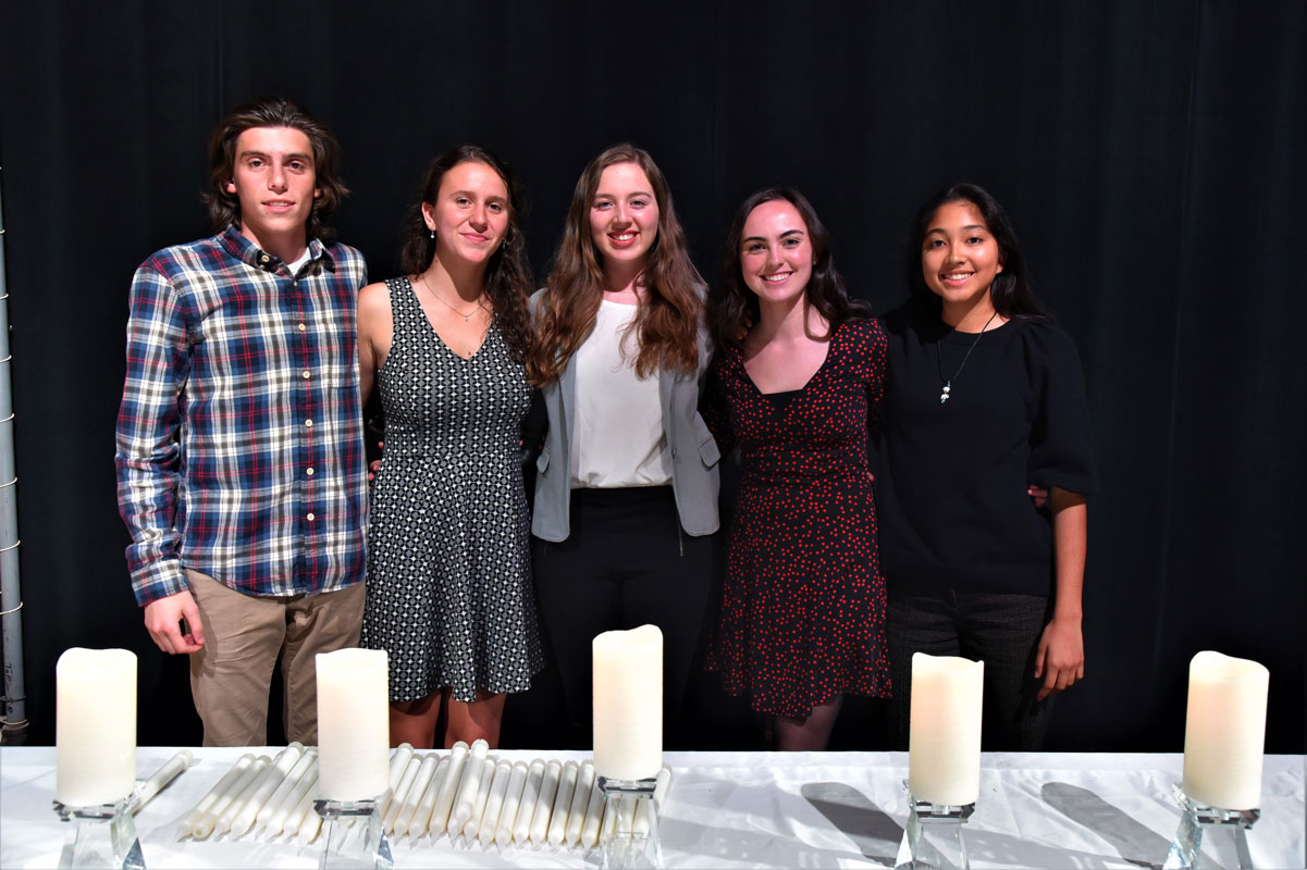 Huntington's National Honor Society chapter is led by a spectacular executive board (2)
