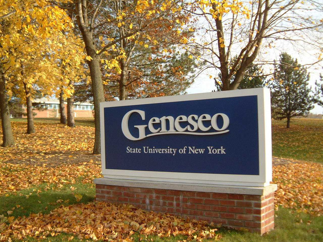 Huntington senior Phoebe Walther is headed to SUNY Geneseo next fall.