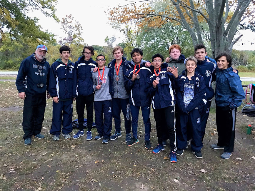 Huntington at last fall's Section XI Frosh-Soph Championships at Sunken Meadow State Park.