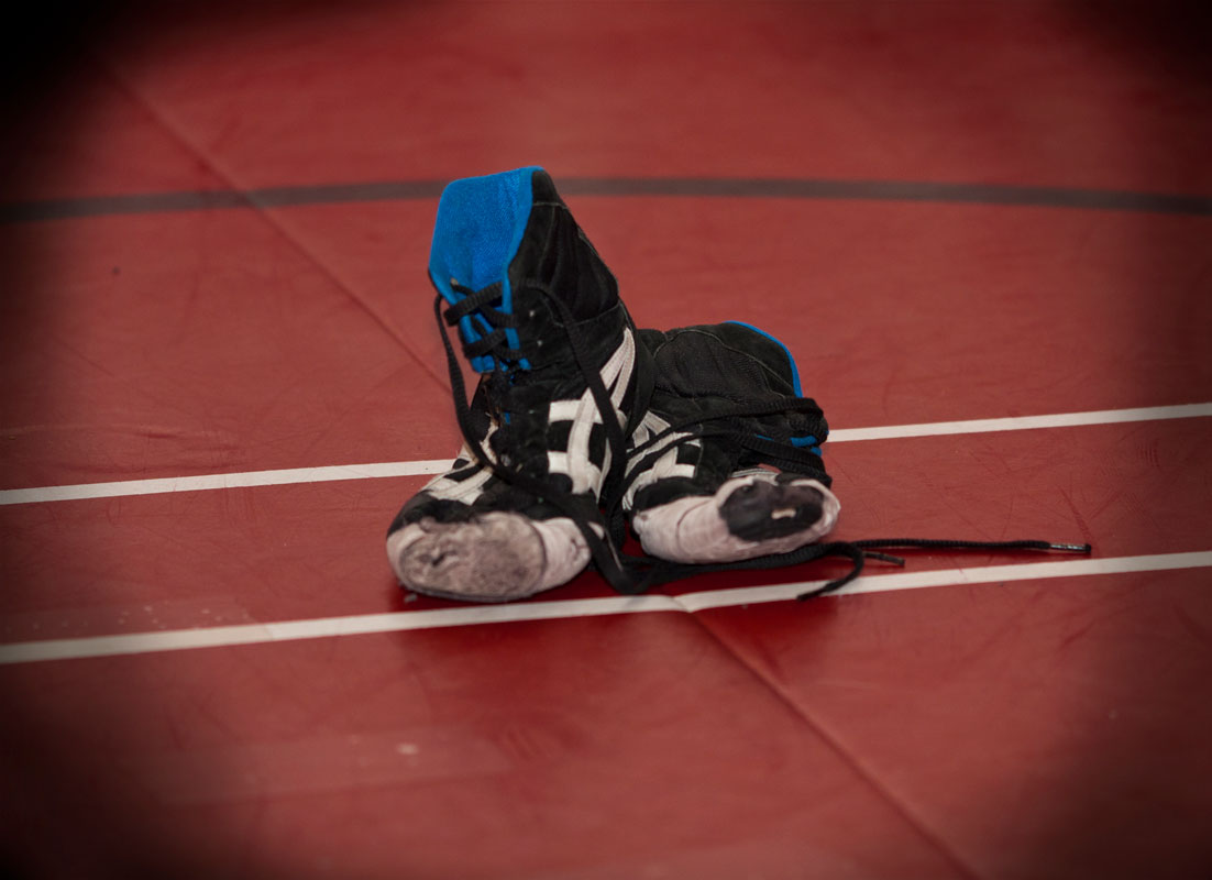 The J. Taylor Finley Middle School wrestling team begins practice on Tuesday, January 22