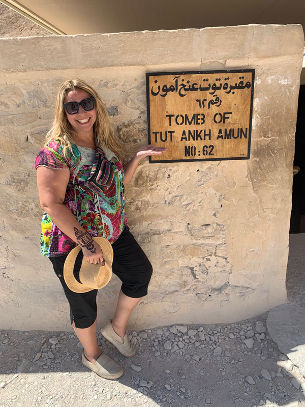 Teacher Camille Tedeschi loves to travel and a true student of history, culture and peoples