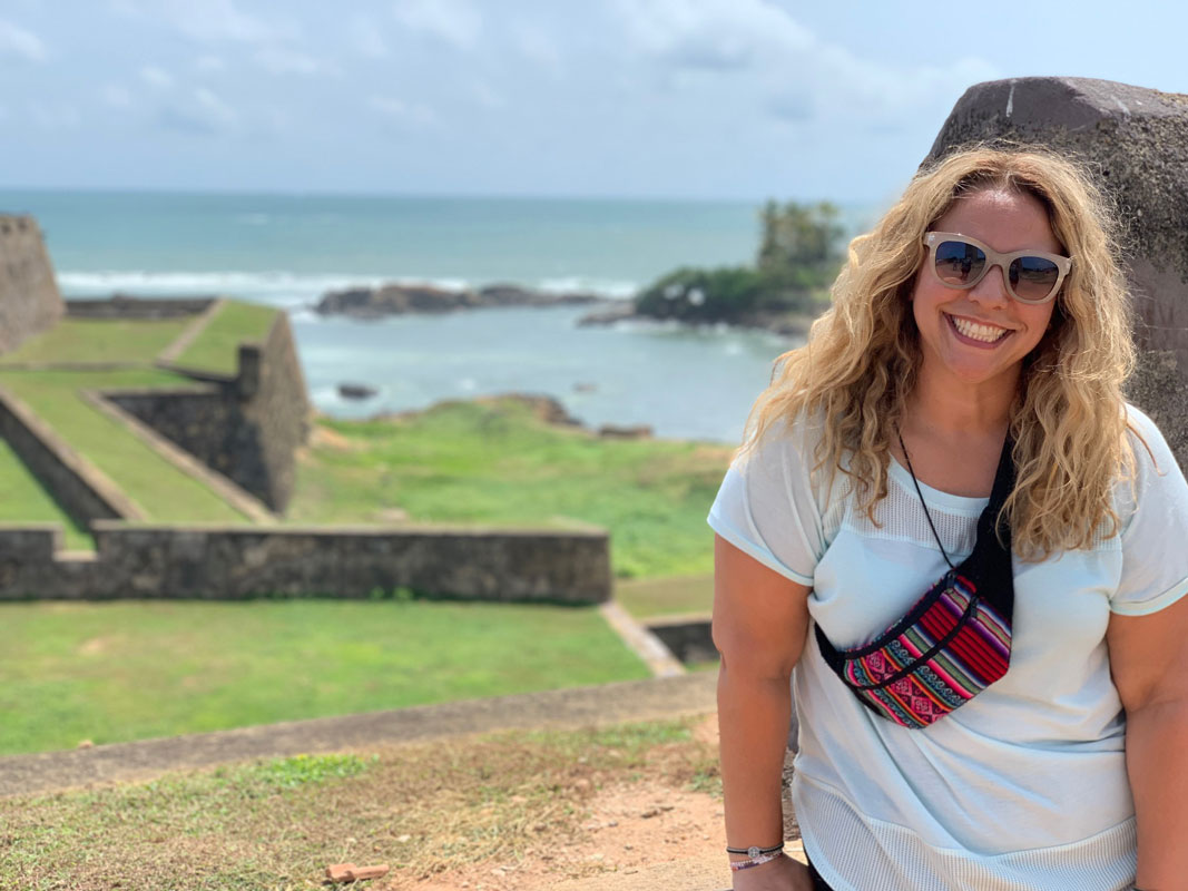 Camille Tedeschi has traveled to countries across the globe