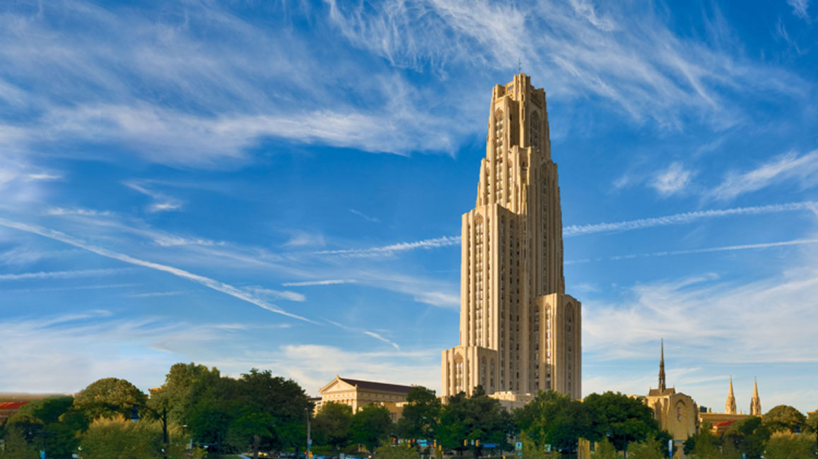 The University of Pittsburgh is one of the top research universities in the country.