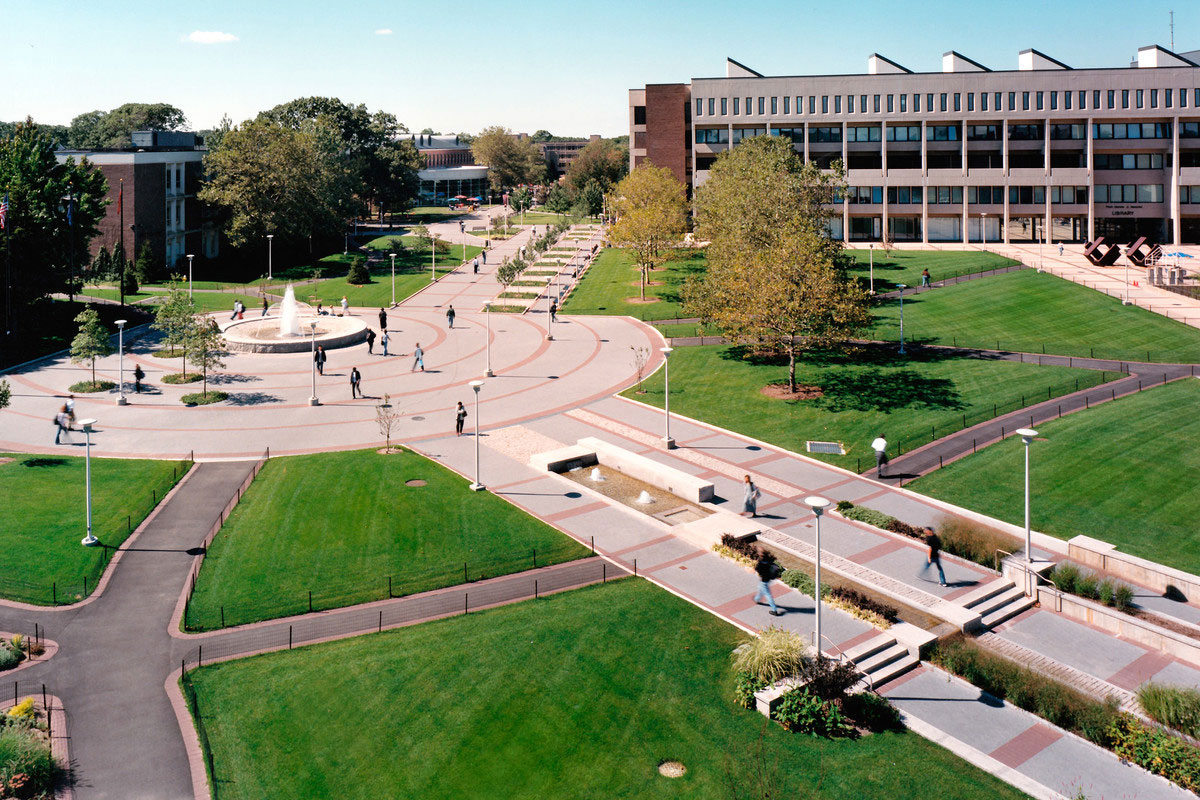 Stony Brook University's sprawling campus totals 1,039 acres.