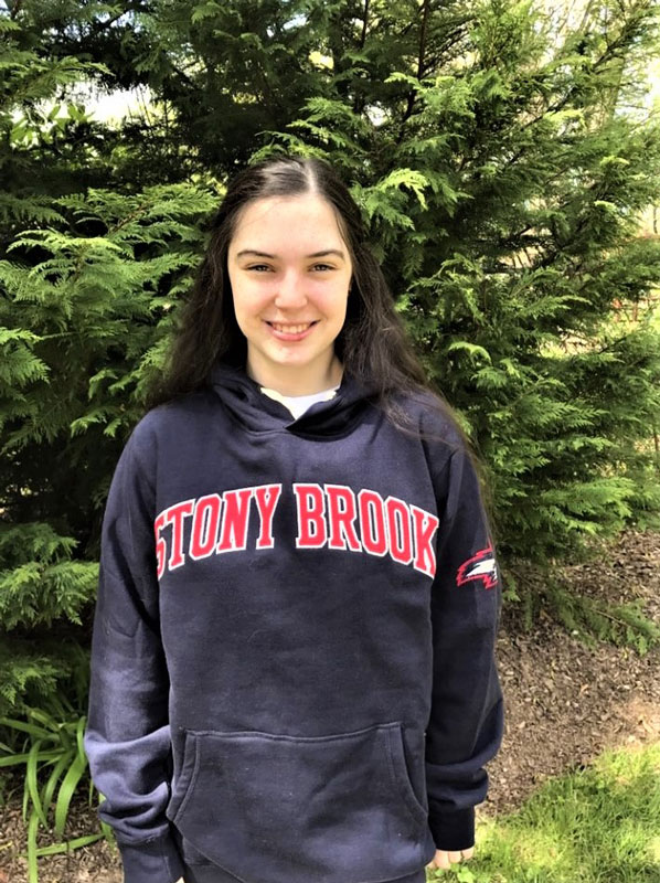 Moira Contino is all in for Stony Brook University.