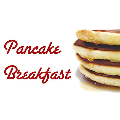 Huntington's marching band is holding a pancake breakfast