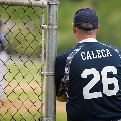 The Finley baseball team is coached by Paul Caleca. (Darin Reed photo.)