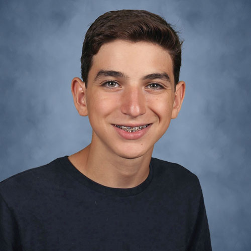 Huntington sophomore Luca D'Anna is a mainstay in the high school science research program.